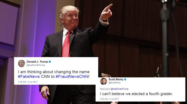 Donald Trump et CNN, une histoire sans fin