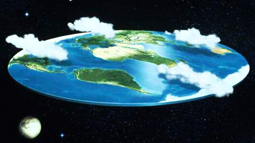 Non la Terre n'est pas plate…